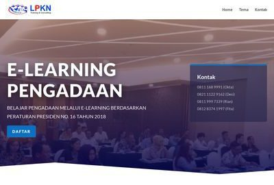 E-Learning Pengadaan