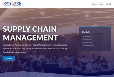 International Certificate in Supply Chain Management
