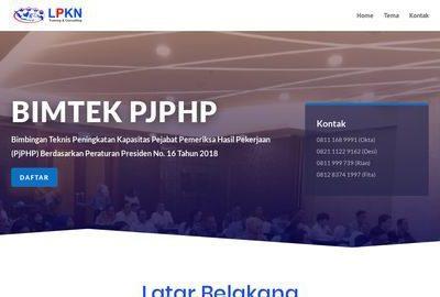 Peningkatan Kapasitas Pejabat Pemeriksa Hasil Pekerjaan (PjPHP)