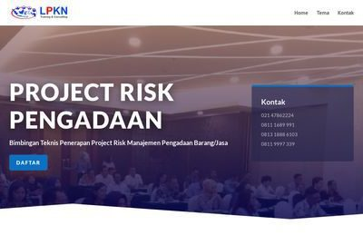 Project Risk Management Pengadaan