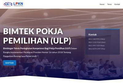 Bimtek Pokja Pemilihan/ULP