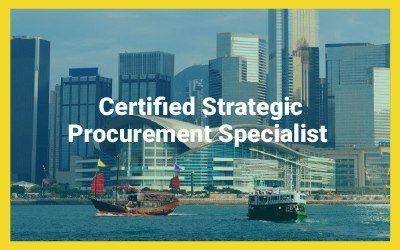 Certified Strategic Procurement Specialist (CSPs)